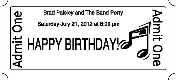 Free Concert Ticket Template Elegant Pin Free Printable Raffle Ticket Template Pany Listings