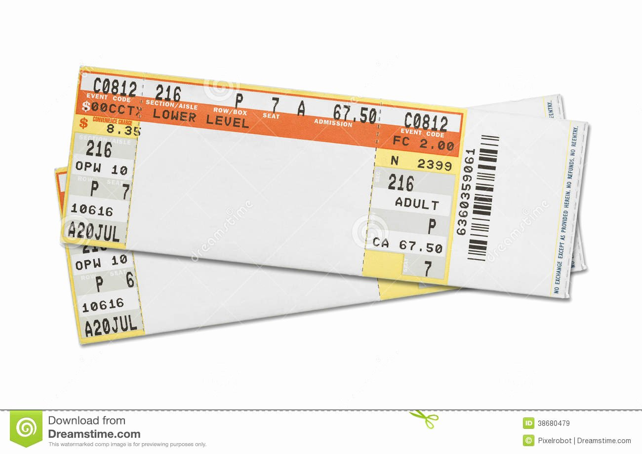 Free Concert Tickets Template Luxury Template Concert Ticket Template
