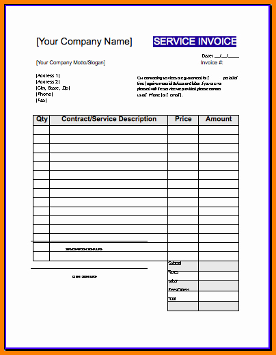 Free Contractor Invoice Template Inspirational Roofing Receipt & 6 Roofing Invoice Templates Free S&le