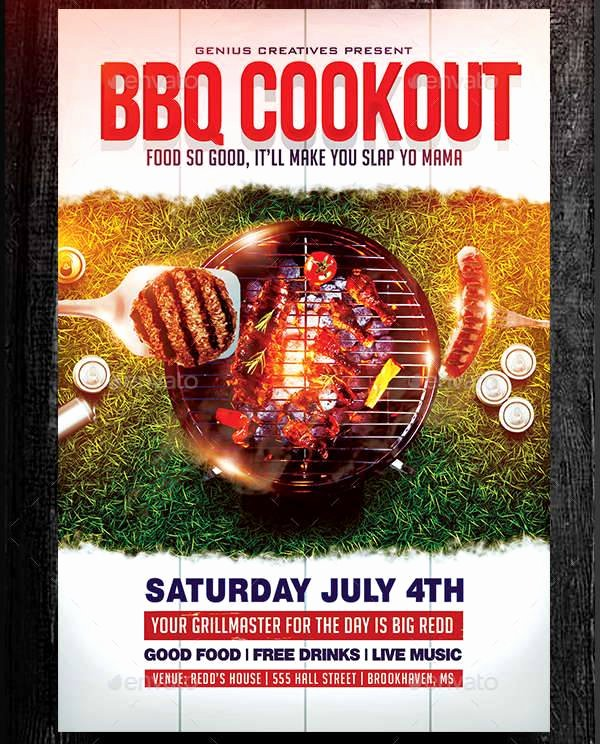 Free Cookout Flyer Template Awesome Cookout Flyers Design Yourweek Bf8cebeca25e