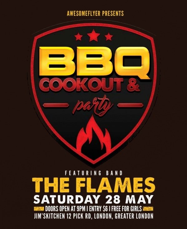 Free Cookout Flyer Template Best Of 14 Cookout Flyer Templates Psd Vector Eps Download