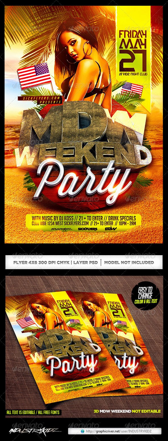 Free Cookout Flyer Template Elegant Free Cookout Flyer Templates Tinkytyler Stock
