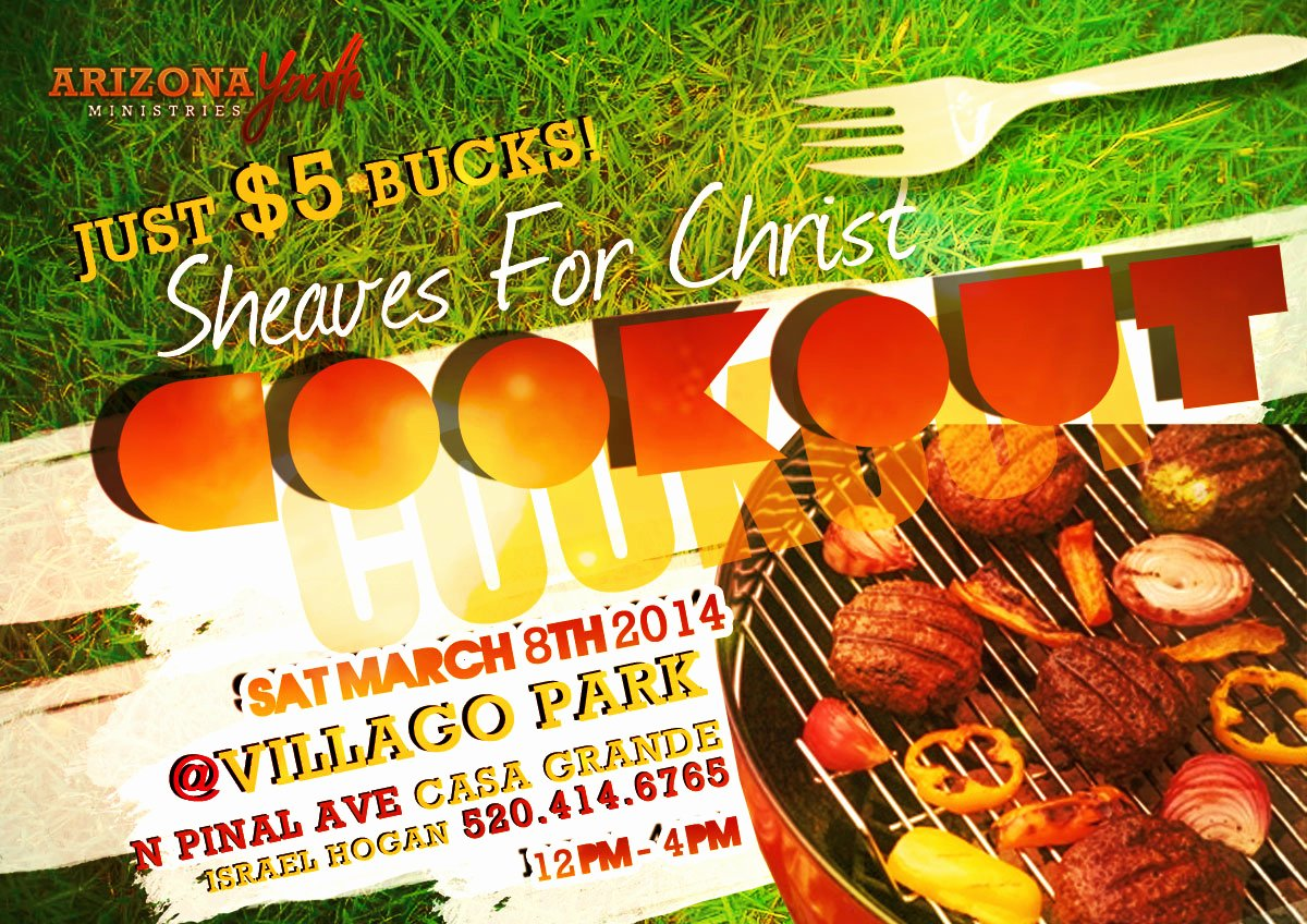 Free Cookout Flyer Template Fresh 8 Best Of Family Cookout Flyer Template Summer