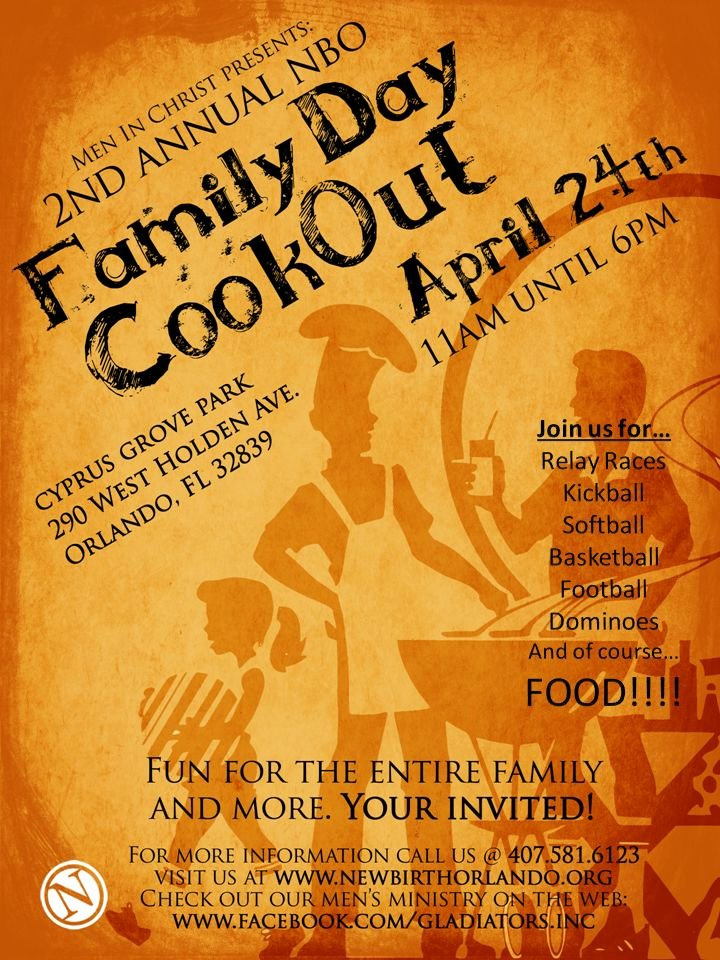 Free Cookout Flyer Template Fresh Pany Cookout Flyer Templates