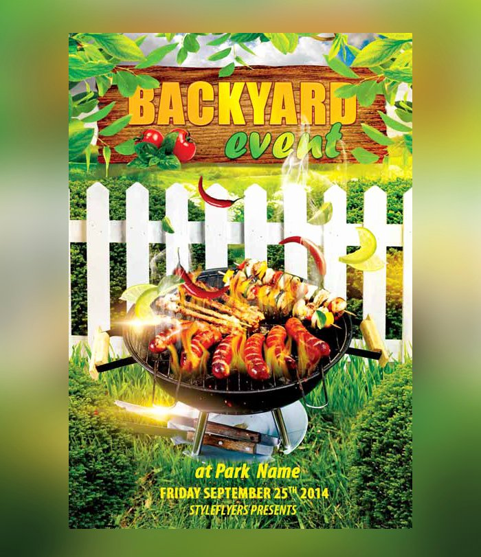 Free Cookout Flyer Template Lovely 25 Bbq Flyer Psd Templates Free & Premium Designyep