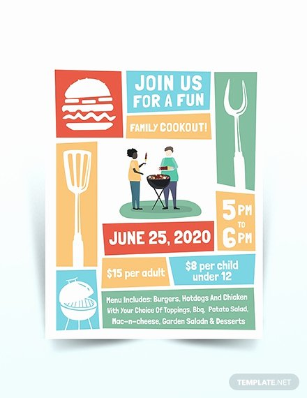 Free Cookout Flyer Template New 681 Free Flyer Templates Download Ready Made