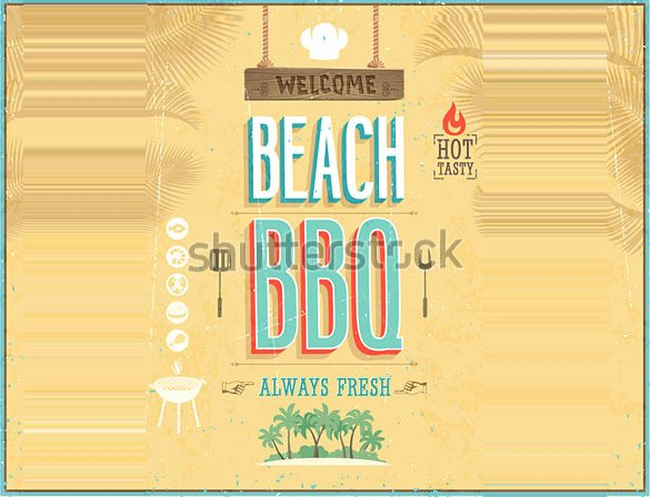 Free Cookout Flyer Template Unique 25 Bbq Flyer Templates Psd Ai Word Eps Vector format