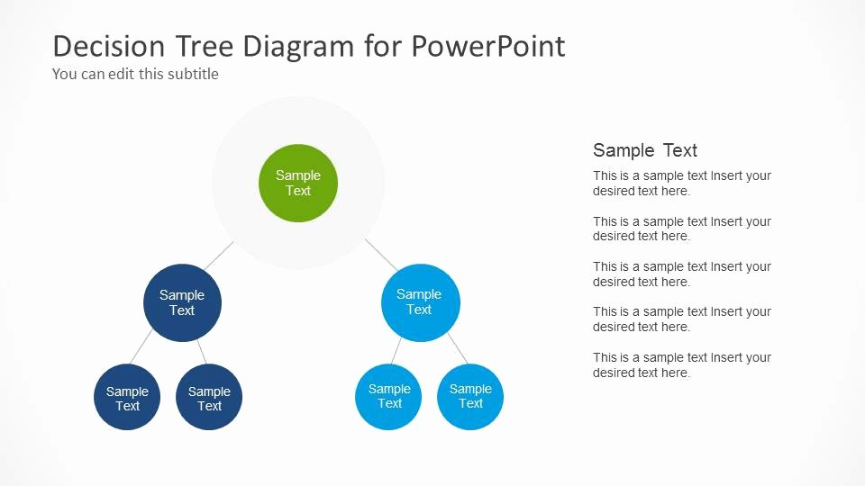 Free Decision Tree Template Inspirational Decision Tree Diagram for Powerpoint Slidemodel