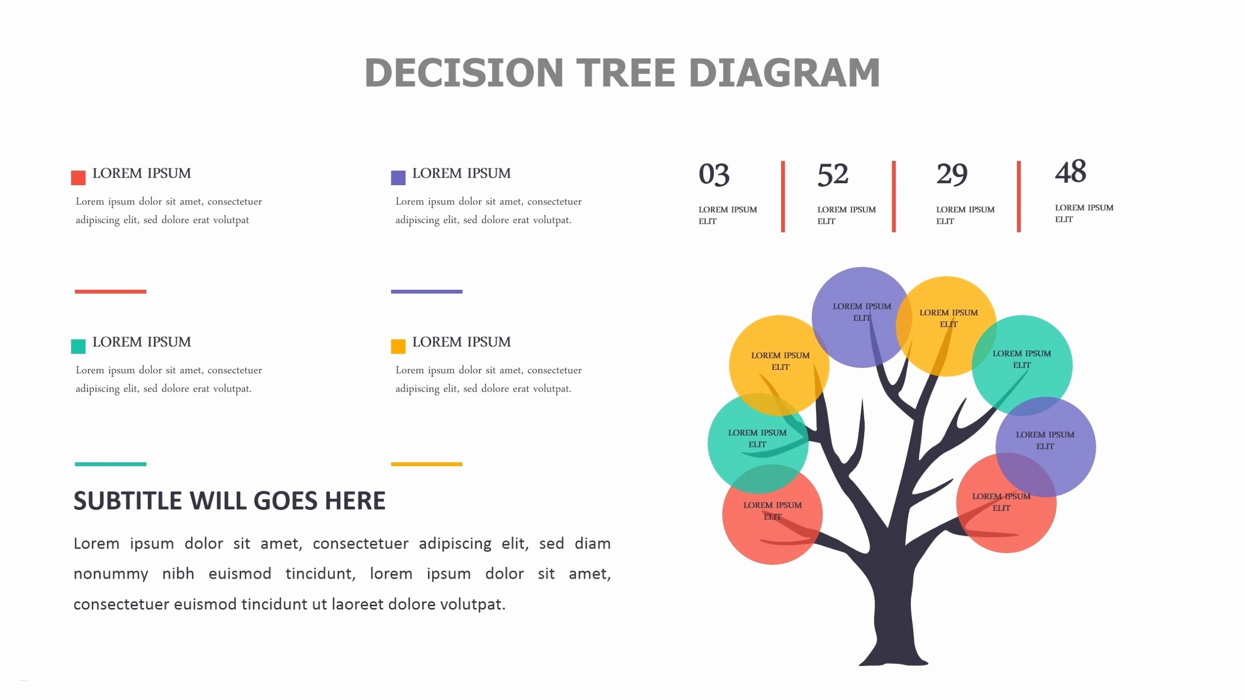 Free Decision Tree Template Inspirational Decision Tree Template Powerpoint Download