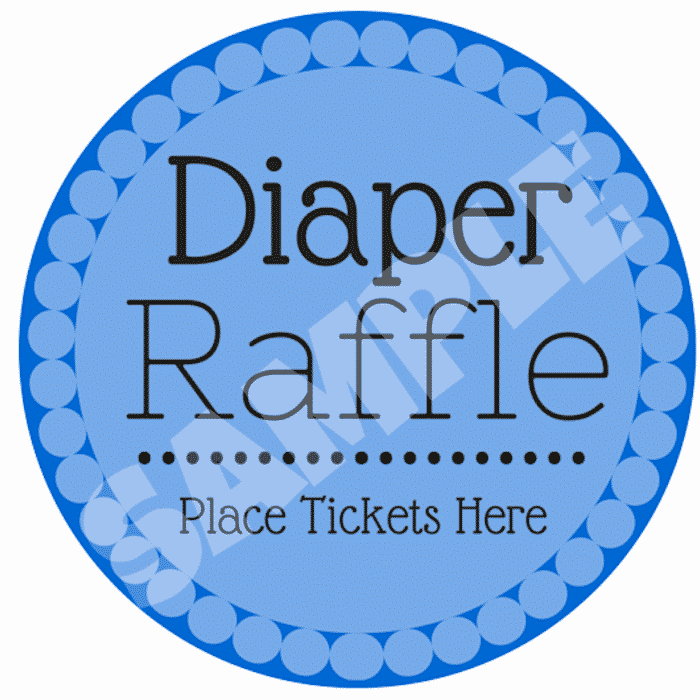 Free Diaper Raffle Template New 10 Free Printable Diaper Raffle Tickets