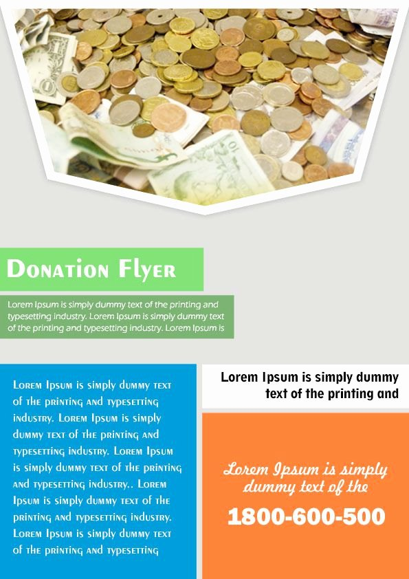 Free Donation Flyer Template Fresh 12 Adorable Donation Flyers for Your Fundraising events
