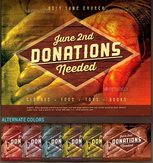 Free Donation Flyer Template Fresh 27 Fundraising Flyer Templates Printable Psd Ai