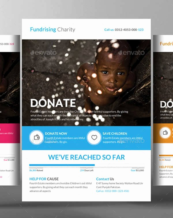 Free Donation Flyer Template Inspirational 10 Donation Flyer Templates Printable Psd Ai Vector