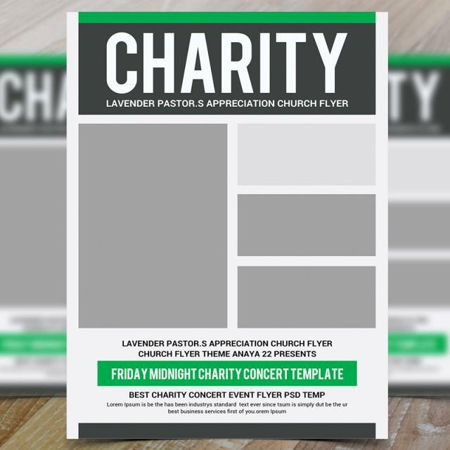 Free Donation Flyer Template New Charity Donation Flyer Template Template for Free Download