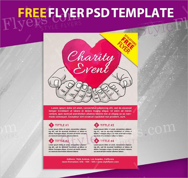 Free Donation Flyer Template New Donation Flyer Template 21 Free & Premium Designs Download