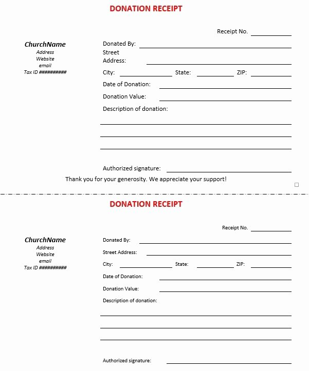 Free Donation Receipt Template Best Of 12 Free Sample Donation Contribution Receipt Templates