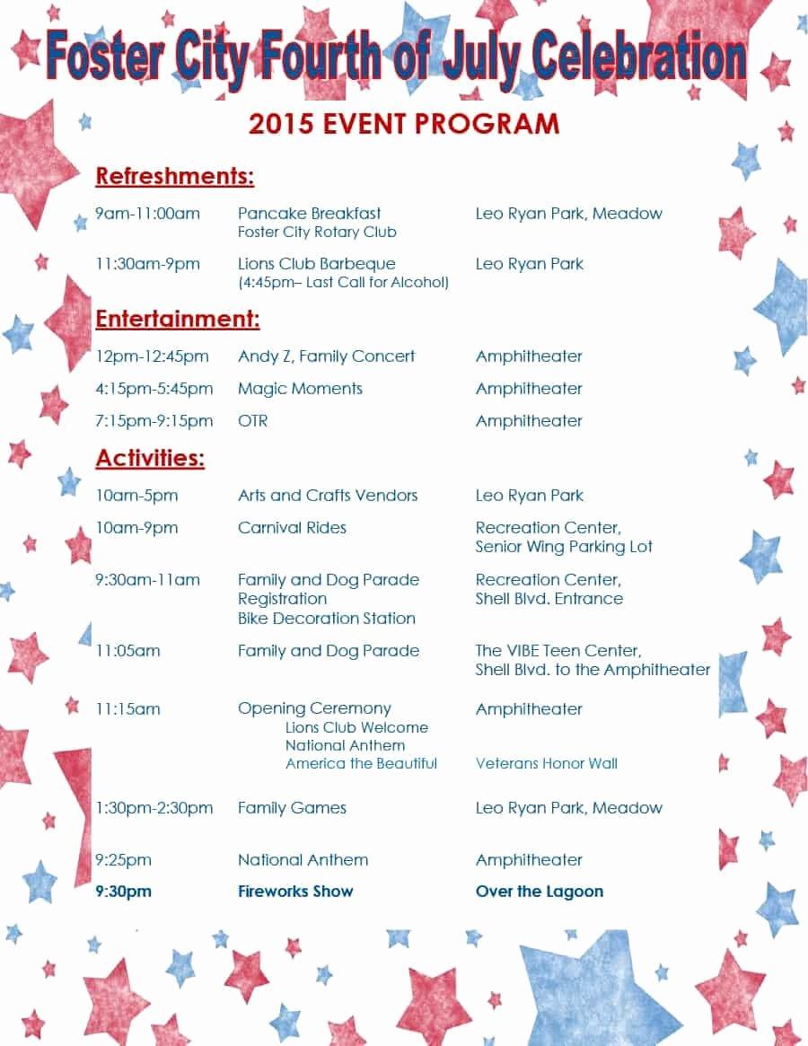 Free event Program Template Luxury 40 Free event Program Templates Designs Template Archive