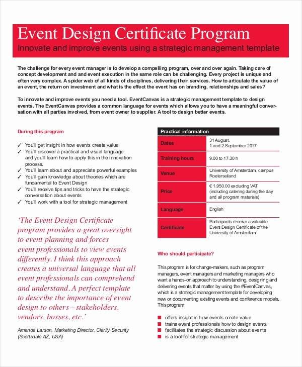 Free event Program Template Unique 37 Sample event Program Templates Psd Ai