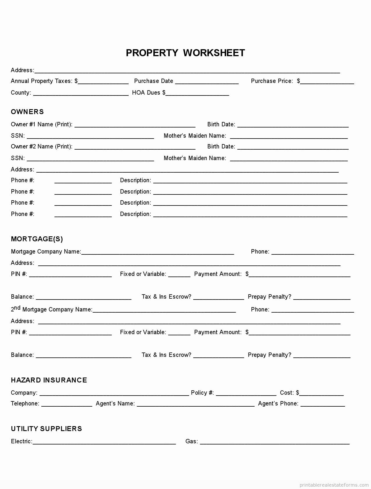 Free Fact Sheet Template Fresh Sample Printable Property Fact Sheet form