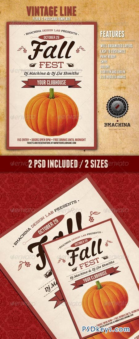 Free Fall Flyer Template Lovely Fall Fest Flyers Free Download Shop Vector
