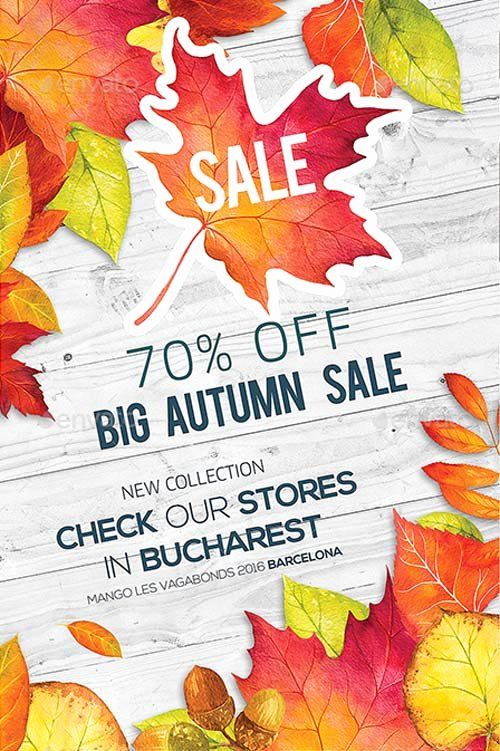 Free Fall Flyer Template Luxury Best Of Autumn Flyer Templates Free and Premium Flyer