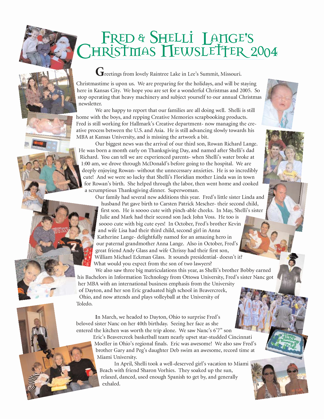 Free Family Newsletter Template Beautiful 19 Free Christmas Letter Templates Downloads Free