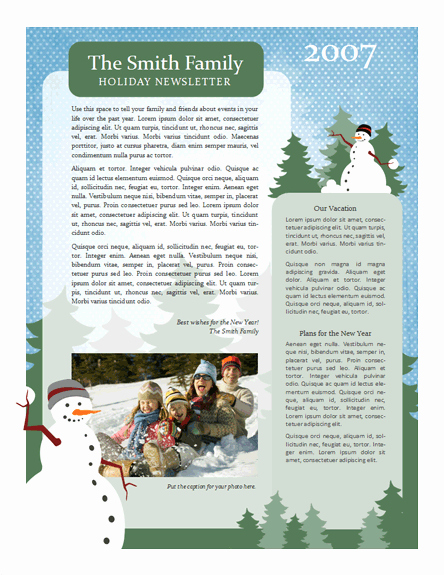 Free Family Newsletter Template Best Of 7 Useful Christmas Cards Christmas Cards