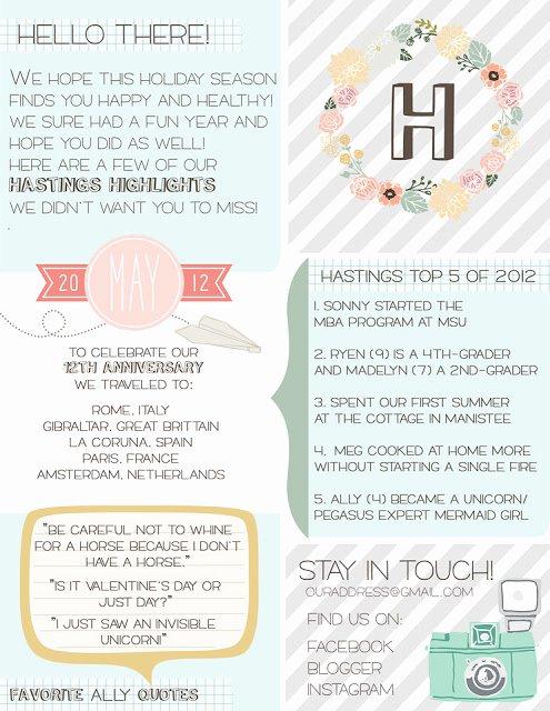 Free Family Newsletter Template Elegant Shabby Blogs Free Family Newsletter Template Printable