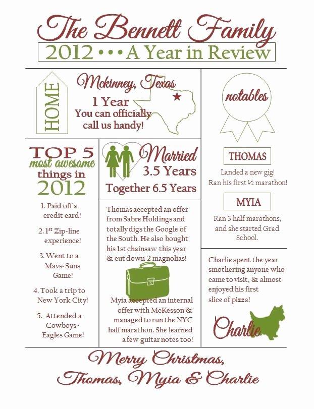 Free Family Newsletter Template Lovely Best S Of Holiday Family Newsletter Template