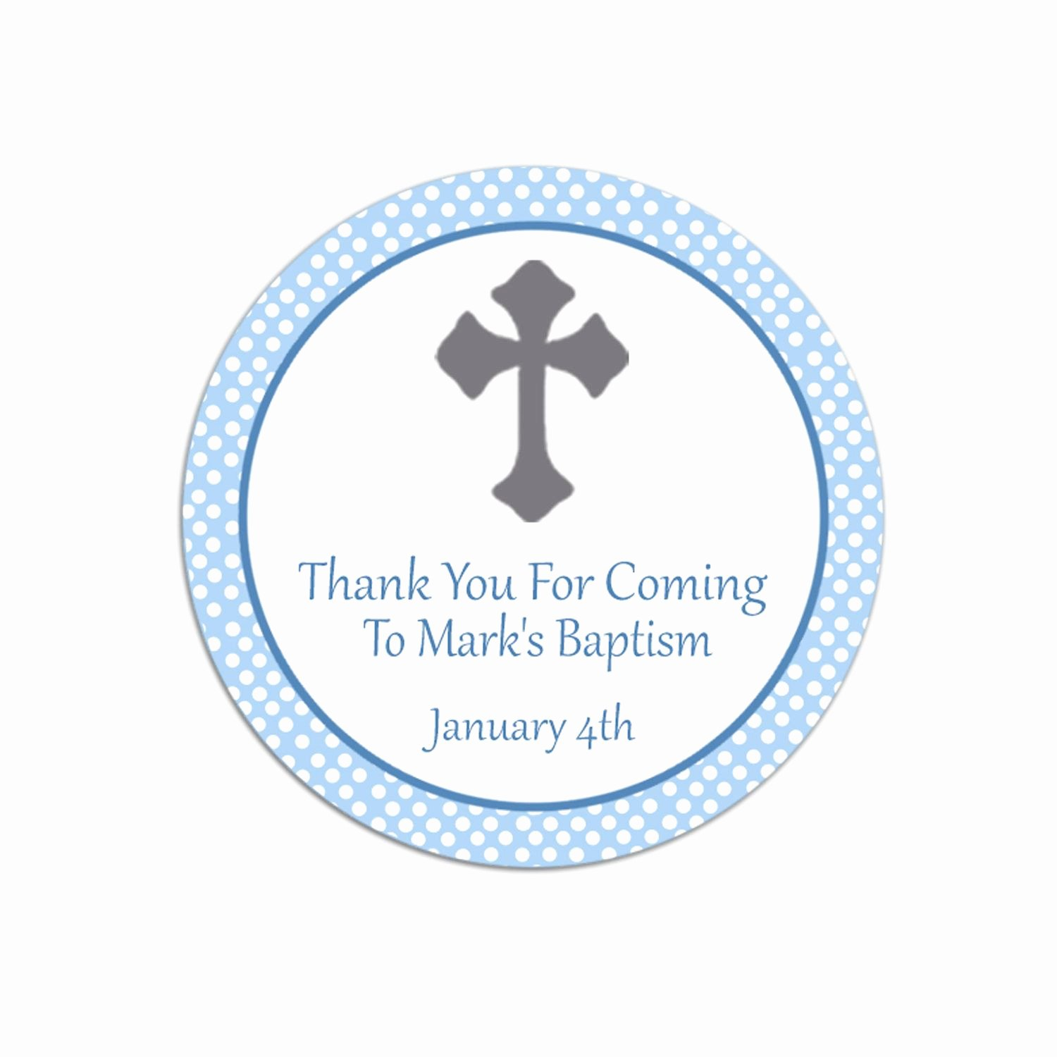 Free Favor Tag Template Fresh Baptism Thank You Favor Tags Template Free