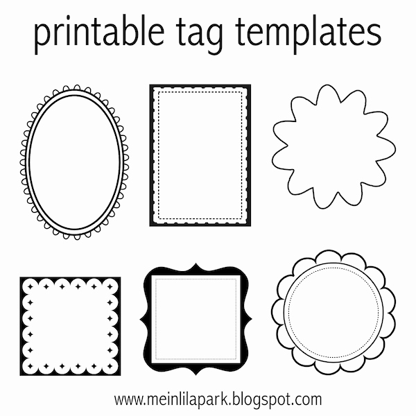 Free Favor Tag Template Luxury Free Printable Tag Templates for Diy Tags Ausdruckbare