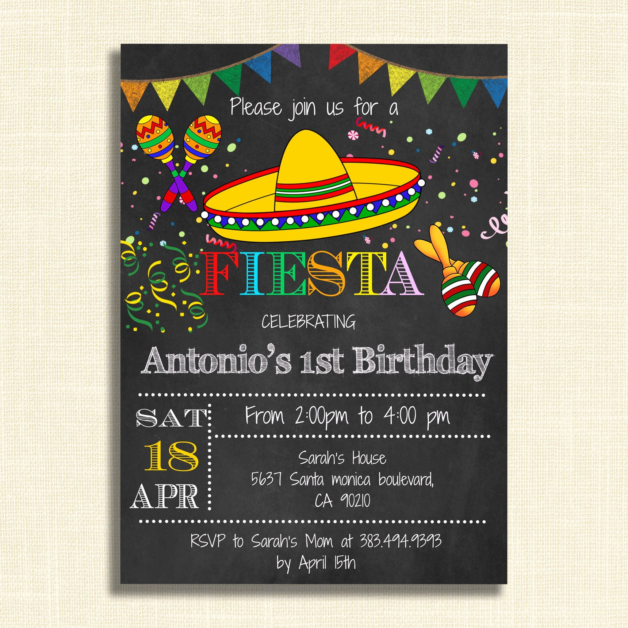Free Fiesta Invitation Template Best Of Printable Mexican Fiesta Party Invitations – Diy Party