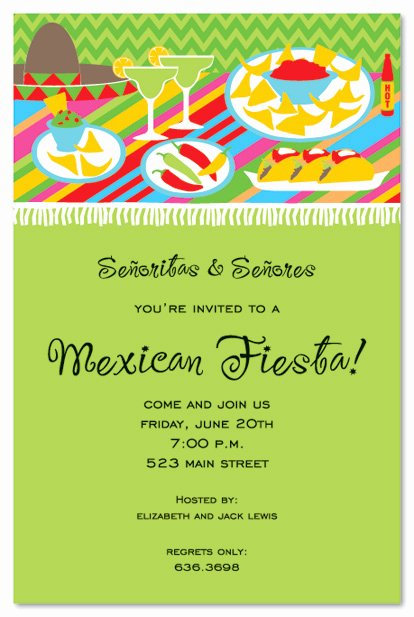 Free Fiesta Invitation Template Fresh 16 Best S Of Birthday Dinner Party Menu Template