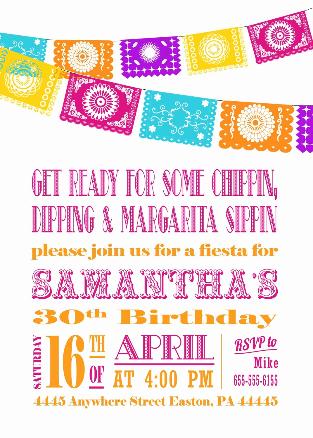 Free Fiesta Invitation Template Inspirational Free Fiesta Invitation Templates