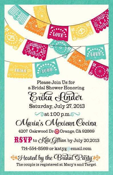 Free Fiesta Invitation Template New 1000 Ideas About Fiesta Bridal Showers On Pinterest