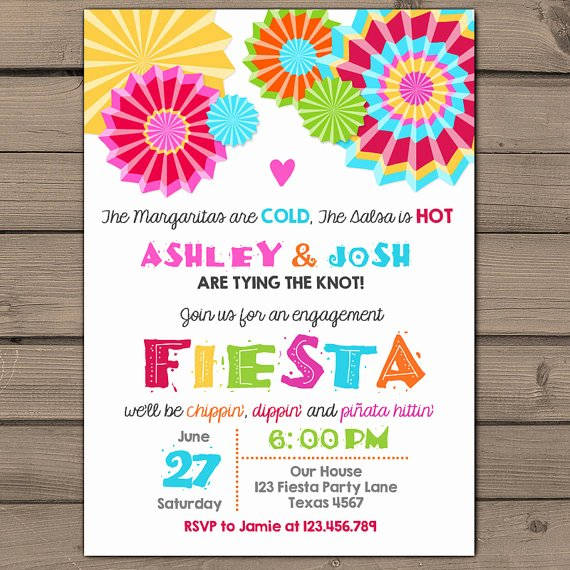 Free Fiesta Invitation Template New Party Invitation Templates Fiesta Party Invitations