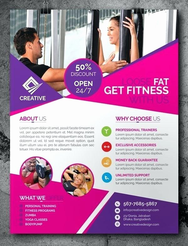 Free Fitness Flyer Template New Free Blogger soft Pink Fitness Lady Template Plan – Wapuym