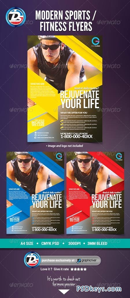 Free Fitness Flyer Template Unique Modern Sports Fitness Flyers Free Download