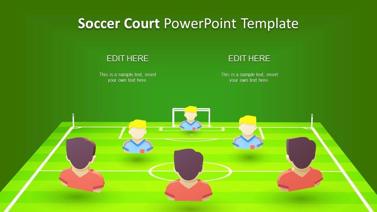 Free Football Powerpoint Template Beautiful Fifa Football soccer Presentation Slidemodel