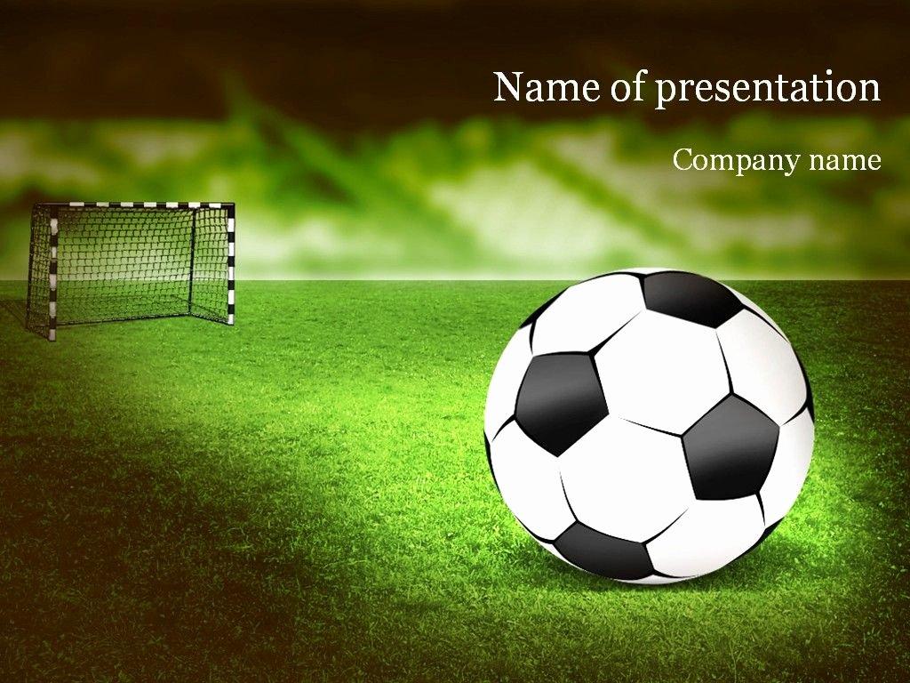 Free Football Powerpoint Template Beautiful soccer Powerpoint Template Templates
