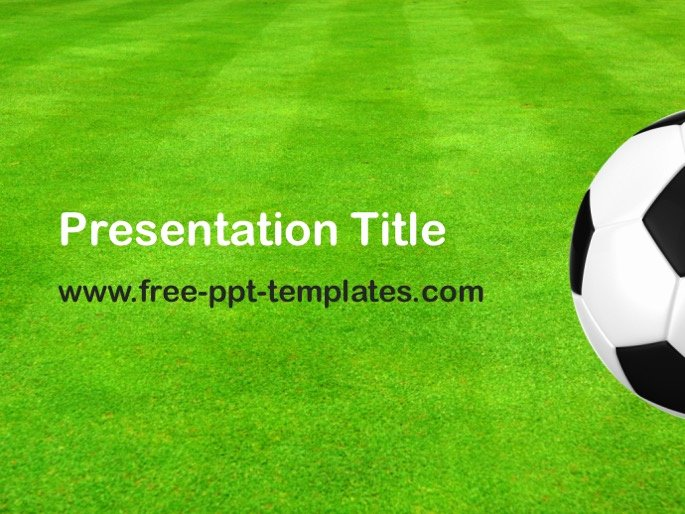 Free Football Powerpoint Template Fresh Football Ppt Template