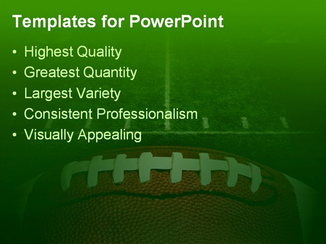 Free Football Powerpoint Template Fresh Photo Of An American Football with the Focus On the
