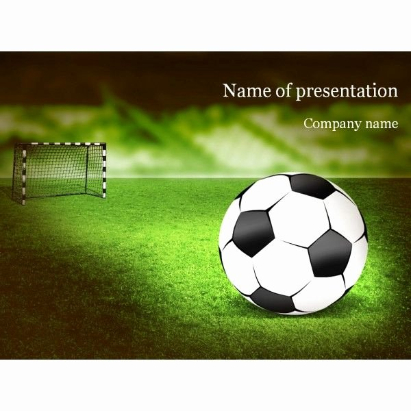 Free Football Powerpoint Template Inspirational Free soccer Powerpoint Template Free soccer Powerpoint