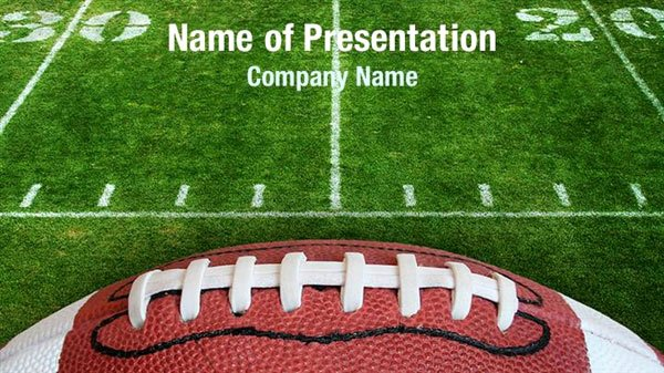 Free Football Powerpoint Template Luxury Football Lace Powerpoint Templates Football Lace