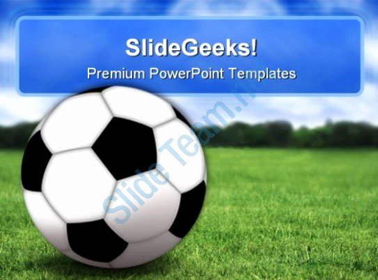 Free Football Powerpoint Template Luxury Football Sports Powerpoint Templates and Powerpoint
