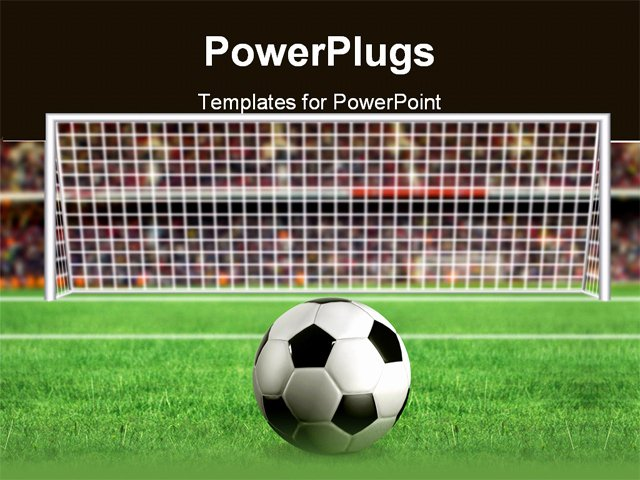 Free Football Powerpoint Template New Football Penalty In the Stadium 3d Illustration