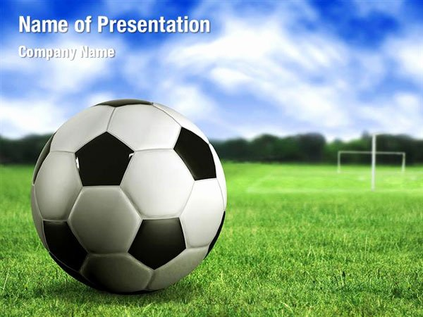 Free Football Powerpoint Template Unique Football Field Powerpoint Templates Football Field