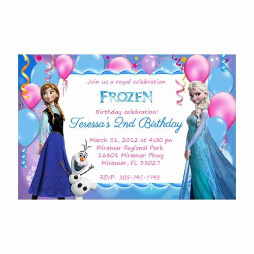 Free Frozen Invitation Template Awesome Disney Frozen Invitation Templates