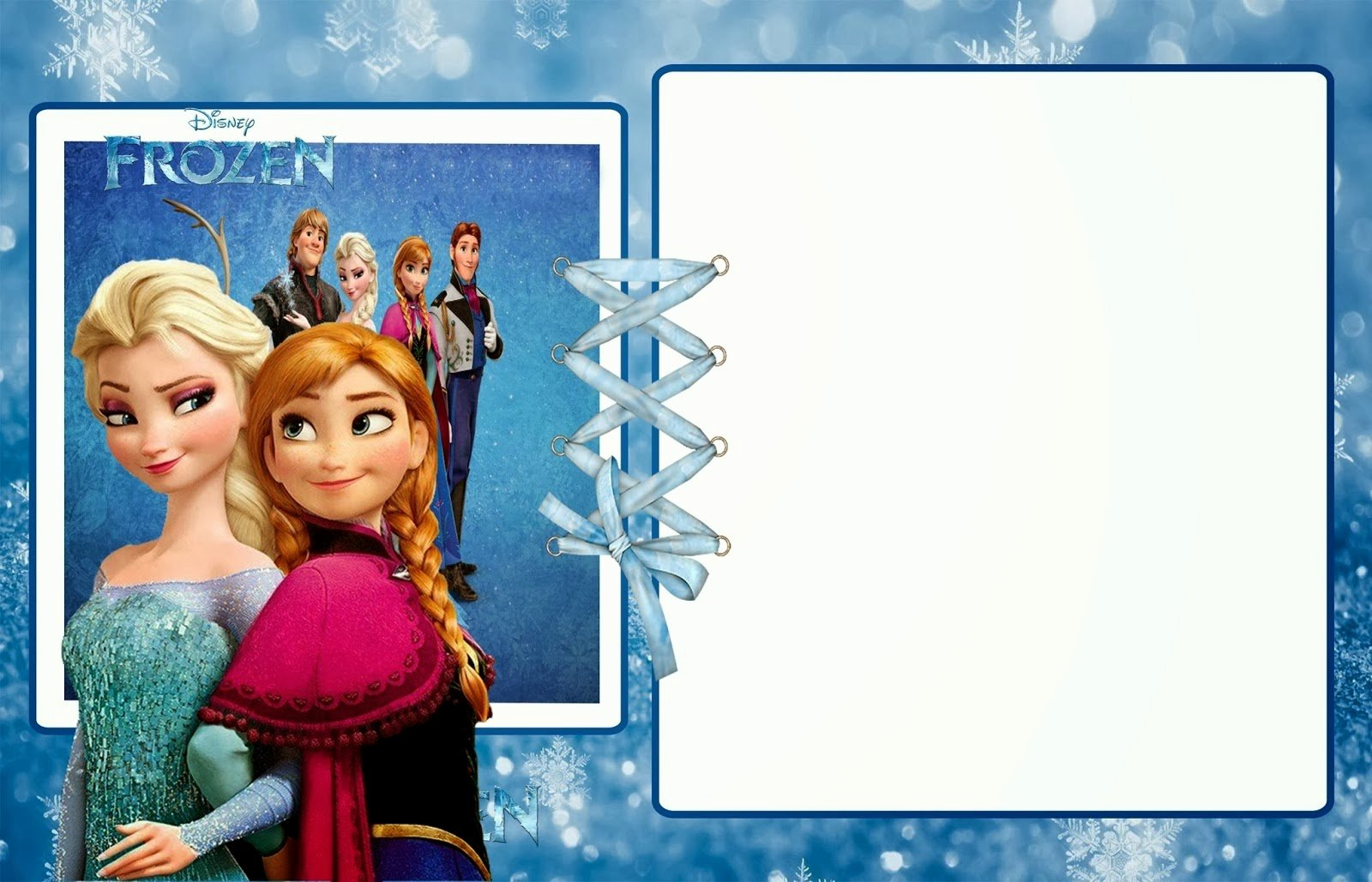 Free Frozen Invitation Template Inspirational Frozen Party Free Printable Invitations