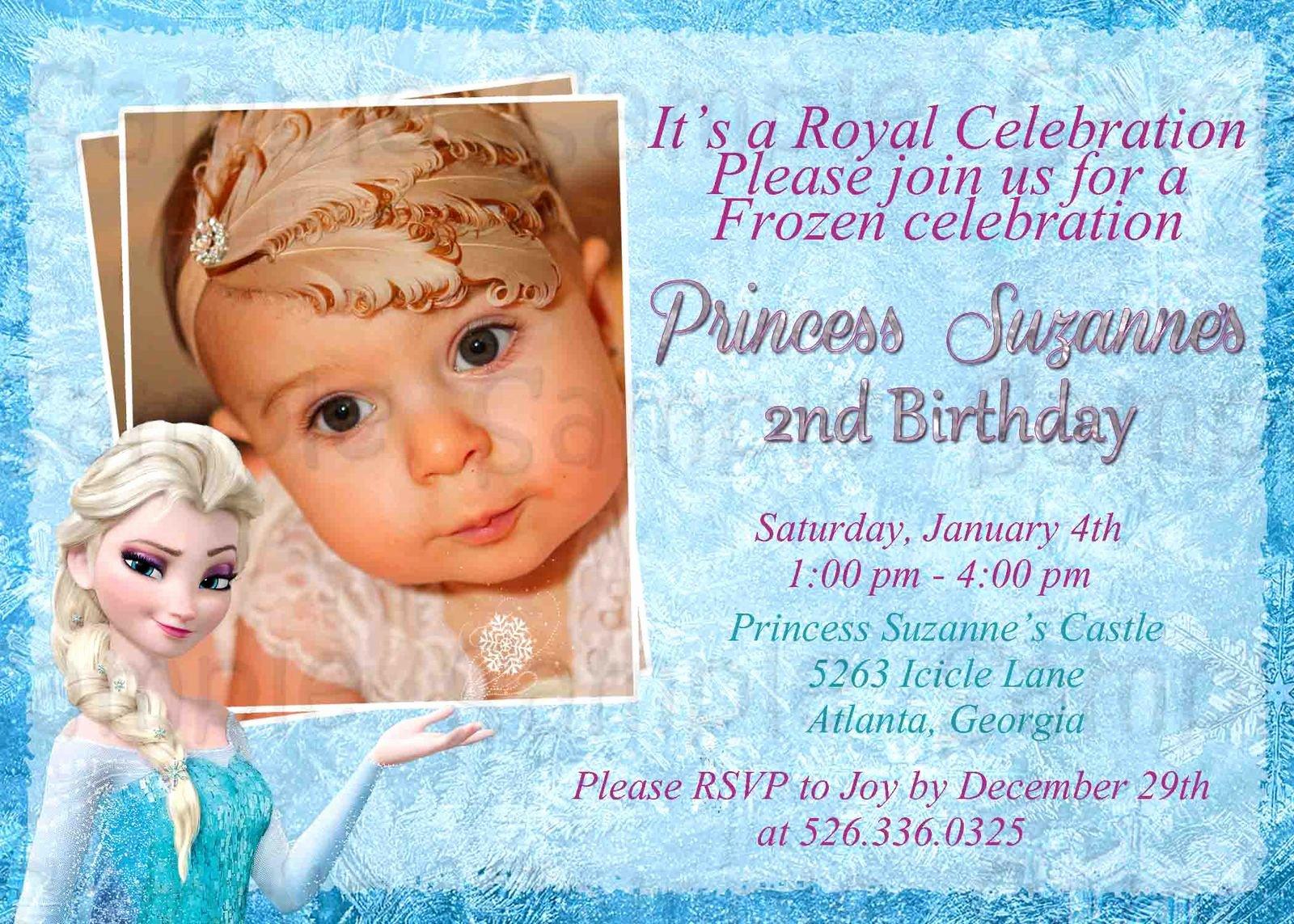 Free Frozen Invitation Template New Disney Frozen Birthday Invitation